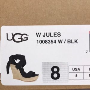 UGG Shoes - UGG JULES wedges in box
